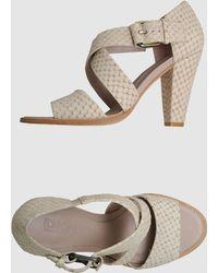 DKNY Dkny - High-heeled Sandals - Lyst