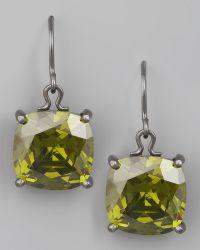 Bottega Veneta - Peridot Drop Earrings - Lyst