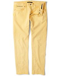 Incotex Slim-fit Garment-dyed Jeans - Lyst