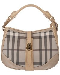 Burberry Brit | Checked Bag | Lyst