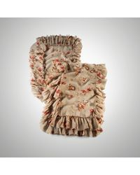Ralph Lauren Collection | Silk Floral Ruffle Scarf | Lyst