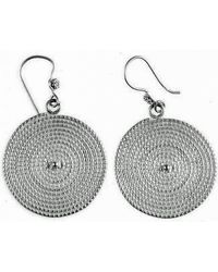Chic Jewel Couture Rodas Ii Earrings Silver - Lyst