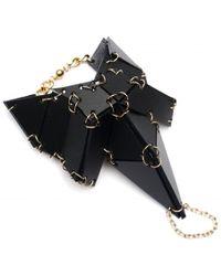 Eaburns Darkstar Bracelet black - Lyst
