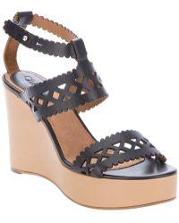 Chloé - Foster Wedge Gladiator Sandal - Lyst