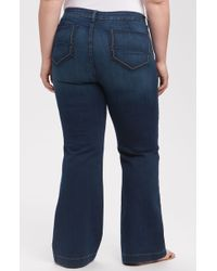 Not Your Daughter's Jeans Faye Wide Leg Jeans - Lyst