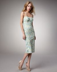 Tracy Reese Floralprint Sheath Dress - Lyst