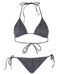 Bottega Veneta - Floral Triangle Bikini - Lyst