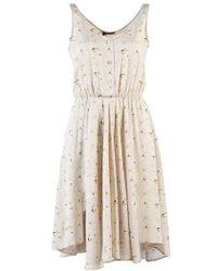 Obakki - Button Front Dress - Lyst
