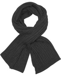 CoSTUME NATIONAL - Solid Wool Long Scarf - Lyst