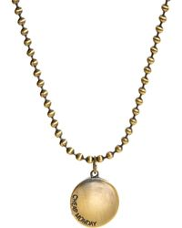 Cheap Monday - Coin Necklace - Lyst