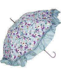 TOPSHOP - Lilac Floral Walker Umbrella - Lyst