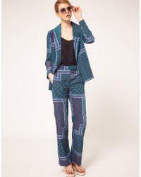 ASOS Collection Asos Paisley Pyjama Trouser - Lyst