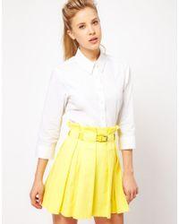 Asos Shirt white - Lyst