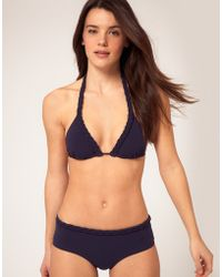 Princesse Tam-Tam | Triangle Halter Bikini Top With Plaited Straps | Lyst