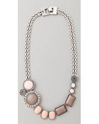 Rachel Leigh - Brit Stone Layer Necklace - Lyst