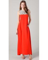 GAR-DE - Mosaic Sleeveless Maxi Dress - Lyst