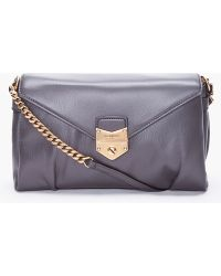 Saint Laurent Slate Dandy Shoulder Bag gray - Lyst