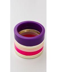 By Malene Birger - Color Repetition Cirkella Bracelets - Lyst