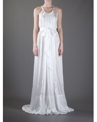 Rick Owens Maxi Dress - Lyst