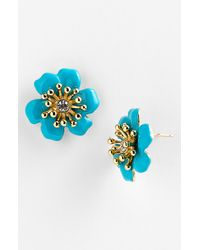 Kate Spade Moms The Word Posey Park Earrings - Lyst