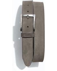 1901   Nubuck Leather Belt   Lyst