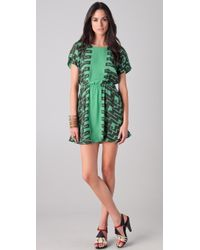 Kelly Wearstler - Numa Print Dress with Back Cutout - Lyst