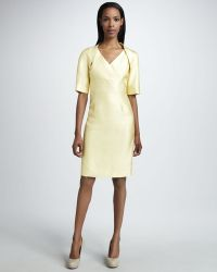 Bigio Collection - Satin Bolero Dress - Lyst
