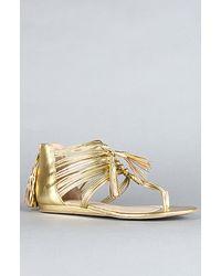 DV by Dolce Vita The Ilana Sandal in Gold Flash Stella - Lyst