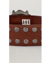 Haute Hippie | Lion Head Belt | Lyst