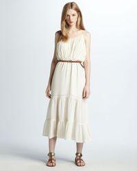 Joie Elaine Tiered Dress - Lyst