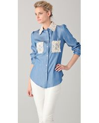 Joy Cioci - Betty Shirt - Lyst