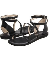 Kors by Michael Kors Rosemary Flat Sandals - Lyst