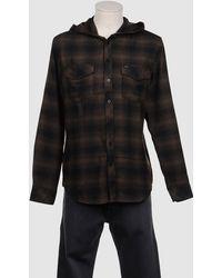 RVCA - Long Sleeve Shirt - Lyst