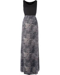 Maggie And Me - Scribble Print Maxi Dress - Lyst