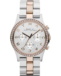 Marc By Marc Jacobs Stainless Steel Glitz Watch, 40 Mm - Lyst
