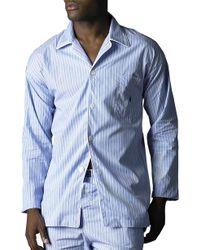 Polo Ralph Lauren Pajama Top - Lyst