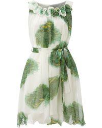 Sodamix - Peacock Printed Dress - Lyst