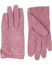ASOS Collection Asos Suede Gloves - Lyst