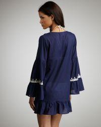 Debbie Katz - Sahara Embroidered Coverup - Lyst