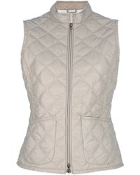 Fay Quilted Gilet - Lyst