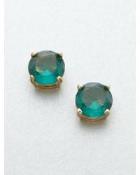 Kate Spade Faceted Stud Earrings - Lyst