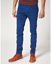 River Island Light Wash Slouch Fit Jean blue - Lyst