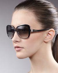 Roberto Cavalli Metal Enamel Sunglasses Snake - Lyst