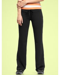 Gap Terry Fitted Pants - Lyst
