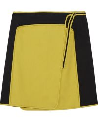Reed Krakoff - Cottonsateen Wrap Skirt - Lyst