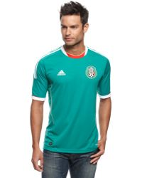 Adidas Mexico Home Soccer Jersey with Climacool - Lyst