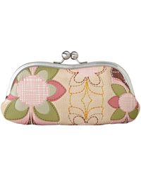 Fossil Ruby Frame Coin Pouch - Lyst