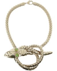 Giambattista Valli Goldplated Glass Sea Creature Necklace - Lyst