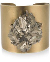 Kelly Wearstler - Pyrite Cluster Cuff - Lyst