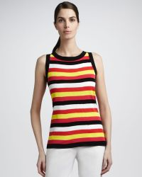 Misook Collection - Stripe Tank with Trim - Lyst